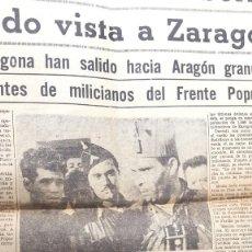 Coleccionismo de Revistas y Periódicos: GUERRA CIVIL - LA NOCHE - DURRUTI - 28 DE JULIO 1936. Lote 254533845