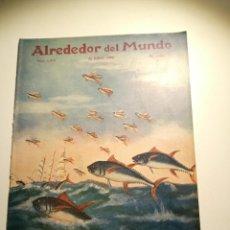 Coleccionismo de Revistas y Periódicos: REVISTA ALREDEDOR DEL MUNDO - 1923 - NÚMERO 1254. Lote 254648485