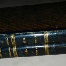 Coleccionismo de Revistas y Periódicos: REVISTA, LA ILUSTRACION ESPAÑOLA Y AMERICANA AÑO 1885 COMPLETO EN DOS TOMOS, 42,5 X 31 CM., MULTITUD. Lote 254682610