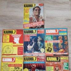 Coleccionismo de Revistas y Periódicos: LOTE REVISTA KARMA.7. Lote 254831270