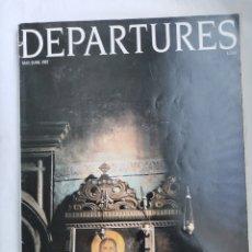 Coleccionismo de Revistas y Periódicos: DEPARTURES MAGAZINE REVISTA 1987 JAPÓN LOUIS VUITTON PORSCHE BMW 7 CARTIER EN INGLÉS. Lote 254881650