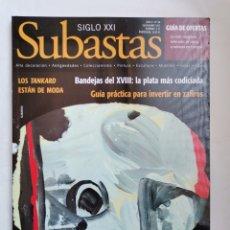 Coleccionismo de Revistas y Periódicos: REVISTA SUBASTAS SIGLO XXI N 88 NOVIEMBRE 2007. Lote 254897950