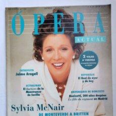 Coleccionismo de Revistas y Periódicos: REVISTA OPERA ACTUAL AGOSTO 1997. Lote 254903780