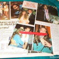 Coleccionismo de Revistas y Periódicos: RECORTE : MARY CROSBY, SERIE DALLAS. SEMANA, FBRO 1985(#). Lote 254904445