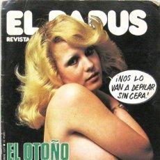 Coleccionismo de Revistas y Periódicos: EL PAPUS - EL OTOÑO VIENE NEGRO - Nº 175 - REVISTA. Lote 254905015