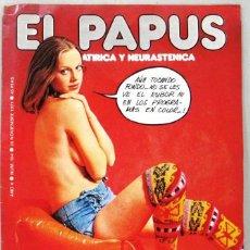 Coleccionismo de Revistas y Periódicos: EL PAPUS - TVE TOCA FONDO - Nº 184 - NOVIEMBRE 1977 - REVISTA. Lote 254905405