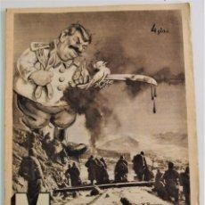 Coleccionismo de Revistas y Periódicos: REVISTA MOMENTO Nº 1 - 14 FEBRERO 1951 - PORTADA DE POTIPAN CON STALIN. Lote 254919360