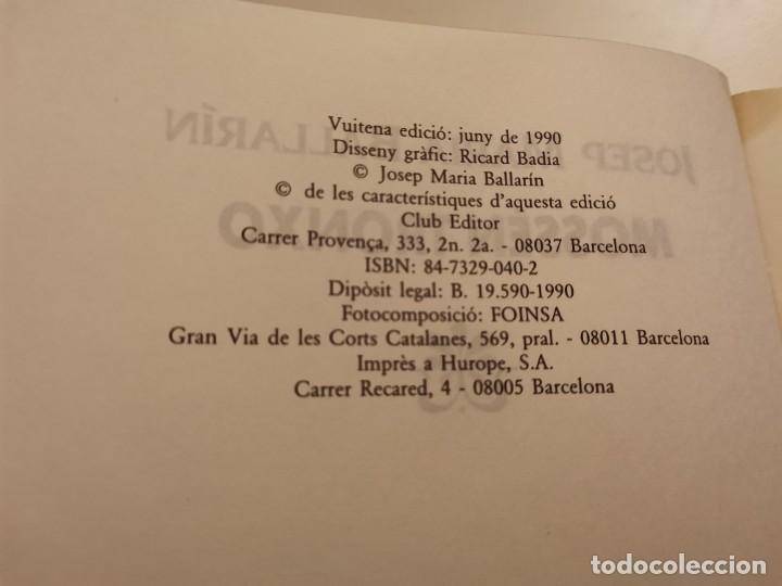 Coleccionismo de Revistas y Periódicos: MOSSEN TRONXO JOSEP MARIA BALLARIN CLUB EDITOR 1990 POSIBLE RECOLLIDA A MALLORCA - Foto 3 - 255005640