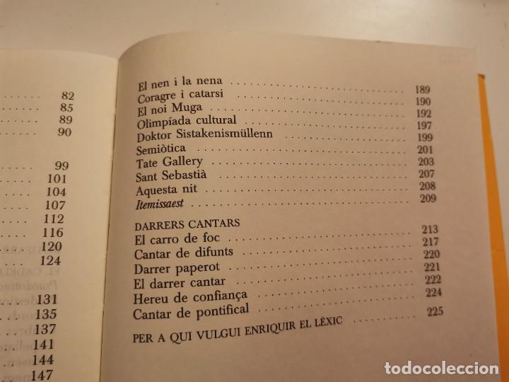 Coleccionismo de Revistas y Periódicos: MOSSEN TRONXO JOSEP MARIA BALLARIN CLUB EDITOR 1990 POSIBLE RECOLLIDA A MALLORCA - Foto 6 - 255005640