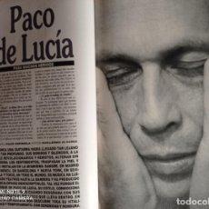 Coleccionismo de Revistas y Periódicos: PACO DE LUCIA. Lote 255026395