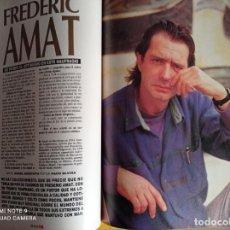 Coleccionismo de Revistas y Periódicos: FREDERIC AMAT. Lote 255026605