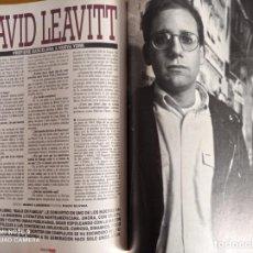 Coleccionismo de Revistas y Periódicos: DAVID LEAVITT. Lote 255027290