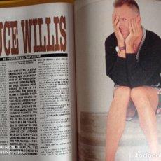 Coleccionismo de Revistas y Periódicos: BRUCE WILLIS. Lote 255027470