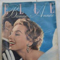 Coleccionismo de Revistas y Periódicos: REVISTA ELLE (BONNE ANEE), Nº 472. 27 DE DICIEMBRE 1954. TEXTO EN FRANCES. 80 PAGINAS. Lote 255372965