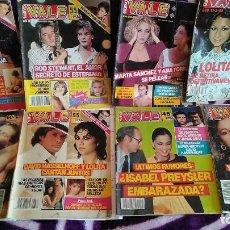 Coleccionismo de Revistas y Periódicos: LOTE 7 REVISTAS NUEVO VALE AÑOS 80 MADONNA, SAMANTHA FOX, DAVID HASSELHOFF, HOMBRES G, MECANO. Lote 255386470