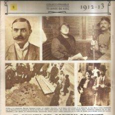Coleccionismo de Revistas y Periódicos: EL CRIMEN DEL CAPITÁN SANCHEZ. 1912-13 - ABC. Lote 255394090