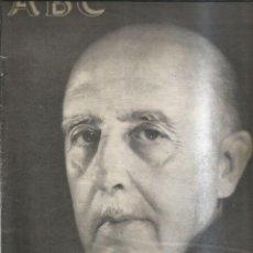 """Coleccionismo de Revistas y Periódicos: """"SUPLEMENTO ABC """"""""FRANCO A MUERTO"""""""""""" - ABC. Lote 255394105"""