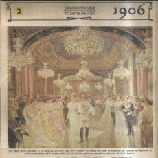Coleccionismo de Revistas y Periódicos: LA BODA DEL REY. 1906 - ABC. Lote 255394110