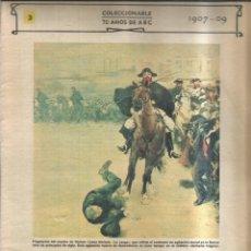 Coleccionismo de Revistas y Periódicos: LA SEMANA TRÁGICA DE BARCELONA. 1907-09 - ABC. Lote 255394115