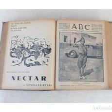 Coleccionismo de Revistas y Periódicos: ABC DIARIO ILUSTRADO MADRID-SEVILLA, AÑO 1936 TOMO ENCUADERNADO 27 JULIO - 21 OCTUBRE, GUERRA CIVIL. Lote 255448325