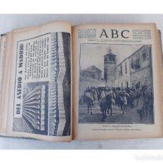 Coleccionismo de Revistas y Periódicos: ABC DIARIO ILUSTRADO, SEVILLA AÑO 1936 TOMO ENCUADERNADO 22 OCTUBRE - 31 DICIEMBRE, GUERRA CIVIL. Lote 255460050