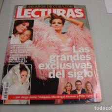 Coleccionismo de Revistas y Periódicos: REVISTA LECTURAS 100 AÑOS DE CORAZON. Lote 255482400