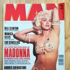Coleccionismo de Revistas y Periódicos: REVISTA MAN MADONNA SUPER POSTER Nº 60 1992 MONICA SELES LOS SENCILLOS NICOLE KIDMAN MILLA JOVOVICH. Lote 255533870