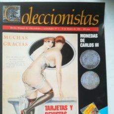 Coleccionismo de Revistas y Periódicos: COLECCIONISTAS. REVISTA MENSUAL DE COLECCIONISMO Y CURIOSIDADES Nº4, 1989. Lote 255598185