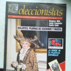 Coleccionismo de Revistas y Periódicos: COLECCIONISTAS. REVISTA MENSUAL DE COLECCIONISMO Y CURIOSIDADES Nº6, 1989. Lote 255598575
