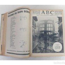 Coleccionismo de Revistas y Periódicos: ABC DIARIO ILUSTRADO, SEVILLA AÑO 1938 TOMO ENCUADERNADO 29 OCTUBRE - 31 DICIEMBRE, GUERRA CIVIL. Lote 256081985
