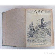 Coleccionismo de Revistas y Periódicos: ABC DIARIO ILUSTRADO, SEVILLA AÑO 1938 TOMO ENCUADERNADO 10 AGOSTO - 28 OCTUBRE, GUERRA CIVIL. Lote 256084225