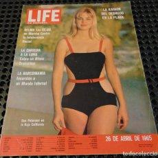 Coleccionismo de Revistas y Periódicos: REVISTA LIFE EN ESPAÑOL - 26 DE ABRIL DE 1965 - SELMA A MONTGOMERY (LUTHER KING) - CARY GRANT - ETC. Lote 256090545
