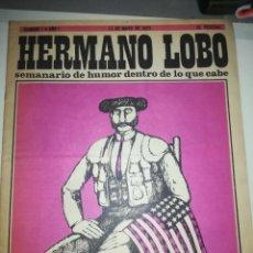 Coleccionismo de Revistas y Periódicos: HERMANO LOBO #1. Lote 256168645