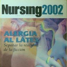 Coleccionismo de Revistas y Periódicos: REVISTA NURSING. Nº 9. VOLUMEN 20. NOVIEMBRE 2002.. Lote 257241585