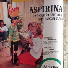 Coleccionismo de Revistas y Periódicos: ANUNCIO ASPIRINA. Lote 257265530