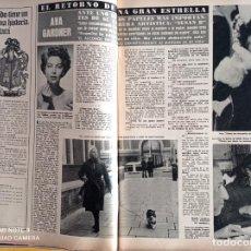 Coleccionismo de Revistas y Periódicos: AVA GARDNER. Lote 257265595