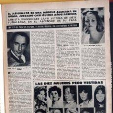 Coleccionismo de Revistas y Periódicos: FARRAH FAWCETT LOS ANGELES DE CHARLIE DOLLY PARTON CHARO BAEZA. Lote 257265865