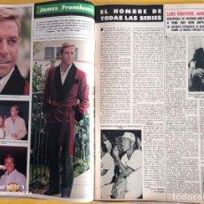 Coleccionismo de Revistas y Periódicos: JAMES FRANCISCUS. Lote 257266310