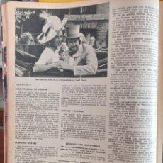 Coleccionismo de Revistas y Periódicos: JANE SEYMOUR ROGER MOORE JAMES BOND 007. Lote 257266405