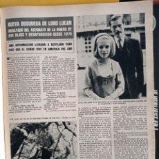 Coleccionismo de Revistas y Periódicos: LORD LUCAN. Lote 257266580