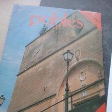 Coleccionismo de Revistas y Periódicos: POBLES DE MALLORCA. COLECCIONABLE 1989. LLORET(401-2). Lote 257266590