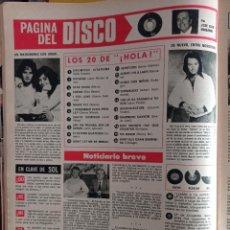 Coleccionismo de Revistas y Periódicos: ANA Y JOHNNY NEIL DIAMOND PETER GABRIEL GEMESIS LOLA MARTINEZ. Lote 257267025
