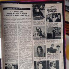 Coleccionismo de Revistas y Periódicos: VIRNA LISI GROUCHO MARX. Lote 257355840