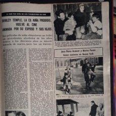 Coleccionismo de Revistas y Periódicos: SHIRLEY TEMPLE JEAN PIERRE AUMONT MARISA PAVON. Lote 257355890