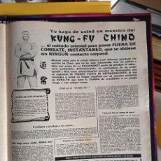Coleccionismo de Revistas y Periódicos: ANUNCIO KUNG FU CHINO. Lote 257355915
