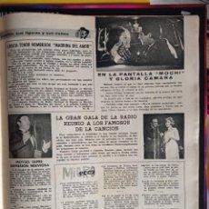 Coleccionismo de Revistas y Periódicos: JUAN ERASMO MOCHI GLORIA CAMARA CONCHITA BAUTISTA FEDERICO GALLO. Lote 257355955