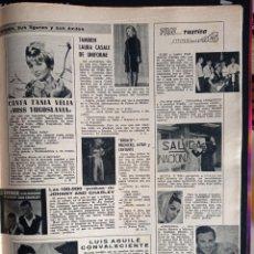 Coleccionismo de Revistas y Periódicos: TANIA VELIA LAURA CASALE LUIS AGUILE CARMEN NAVARRO MARIQUITA GALLEGOS CARLOS MARECO. Lote 257356015