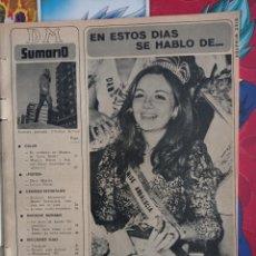 Coleccionismo de Revistas y Periódicos: PILAR ROSENDO HURTADO MISS ANDALUCIA. Lote 257356365