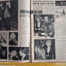 Coleccionismo de Revistas y Periódicos: MARIA SCICOLONE MUSSOLLINI CARLA PUCCINI. Lote 257356400