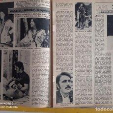 Coleccionismo de Revistas y Periódicos: MASSIEL JAIME MOREY EN YUGOSLAVIA. Lote 257356410